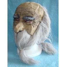 Maska s vlasy Čaroděj