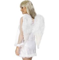 Křídla péřová bílá 50 x 60 cm