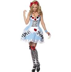 Dámský kostým Sexy Miss Wonderland