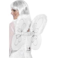 Křídla bílá síťka s chmýřím