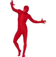 Celotělový overal červený pro dospělé