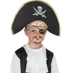 Dětský klobouk Pirátský kapitán
