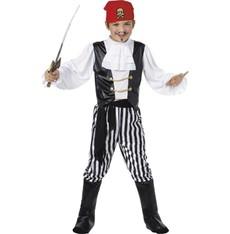 Dětský kostým Pirát deluxe