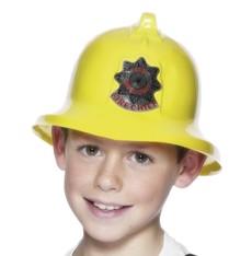 Dětská helma Hasič žlutá