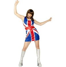 Šaty Britská vlajka