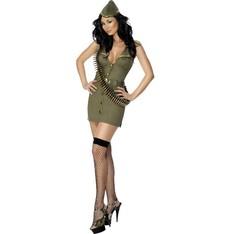 Kostým Sexy majorka
