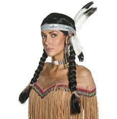 Indiánská paruka WESTERN