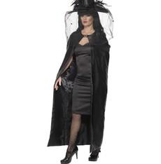 Plášť Čarodějnice černý