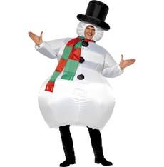 Kostým Sněhulák - vánoční kostýmy