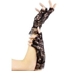 Krajkové rukavice dámské bez prstů