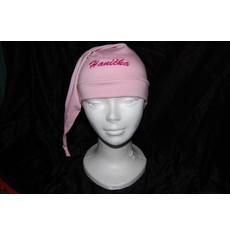 Čepice na spaní růžová jméno