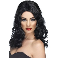 Paruka Glamorous černá