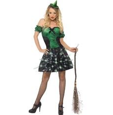 Kostým Sexy čarodějnice svítící