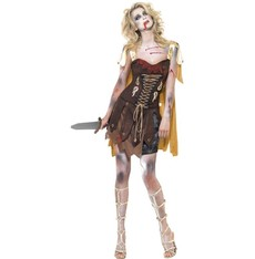 Dámský kostým Zombie gladiátorka