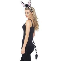 Čelenka s ocasem Zebra