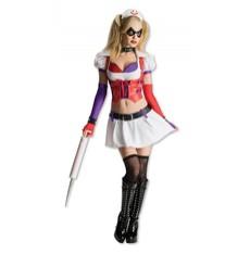 Dámský kostým Super Villian Harley Quinn Batman