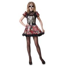 strašidelný kostým Den mrtvých panenka