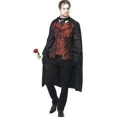 Pánský kostým Temná operní maškaráda