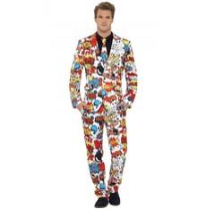 Pánský kostým Komik oblek