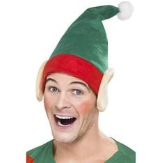 Čepice Elf s ušima pro dospělé