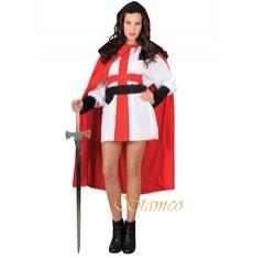 Rytířský kostým Křižák žena
