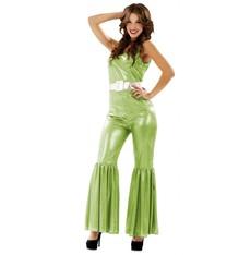 Kostým Disco zelená