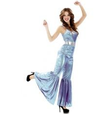 Kostým Disco modrá