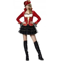 Kostým Pirátka deluxe
