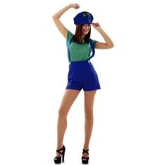 Kostým Super Lady zelená