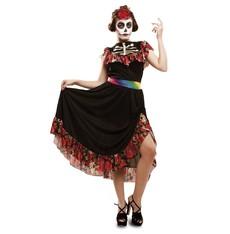Kostým Den mrtvých tanečnice