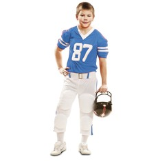 Dětský kostým Hráč ragby modrý