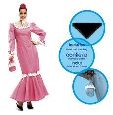 Kostým Madridská žena růžová