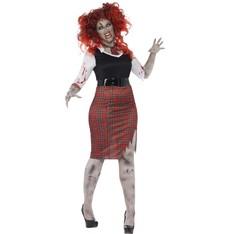 Kostým Zombie školačka