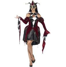 Kostým Gótský harlequin
