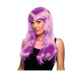 růžová karnevalová paruka Glamour