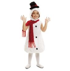 Dětský kostým Sněhulák - vánoční kostým