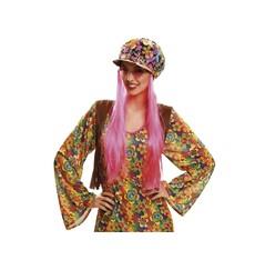 Klobouk Čepice Hippie s vlasy