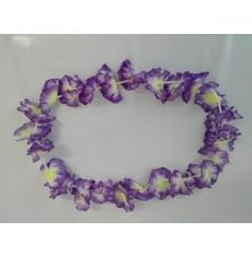 fialový havajský věnec