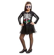 Dětský kostým Kostlivka na halloween