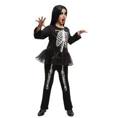 Dětský kostým na halloween  Kostlivka