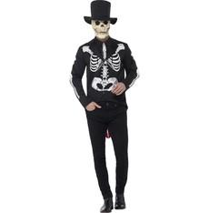 Pánský kostým Kostlivec Day of the dead