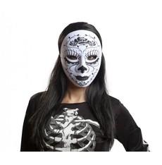Maska Katrina bílo černá