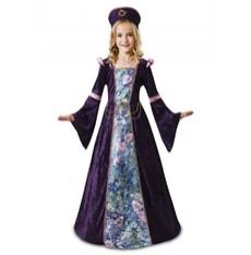 Dětský kostým Levandulová dáma