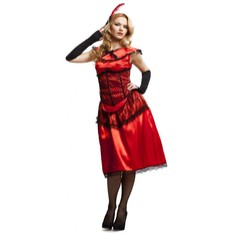 Kostým Saloon lady