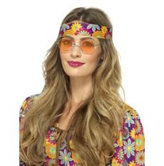 Brýle Hippie oranžové