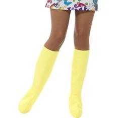 Návleky na boty žluté