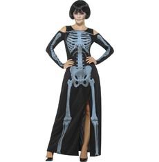 Kostým Kostra - šaty kostlivec