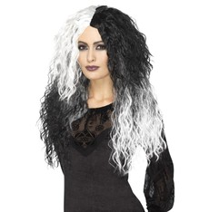 Luxusní paruka čarodějnice