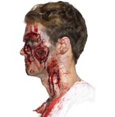 Zranění latexové, krvácející rána