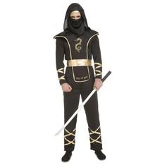 Kostým Černý Ninja pro dospělé